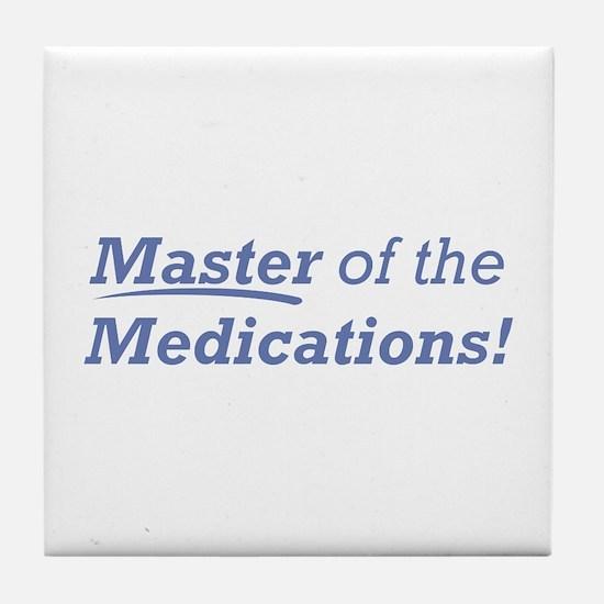 Medications / Master Tile Coaster