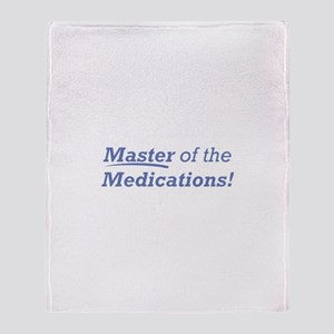 Medications / Master Throw Blanket