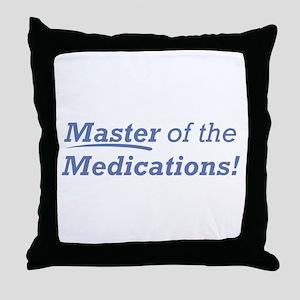 Medications / Master Throw Pillow