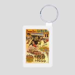Panama Red's Bullfight Aluminum Photo Keychain