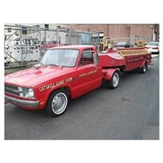 Funny Ford Pickup Poster