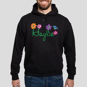 Haylie Flowers Hoodie (dark)