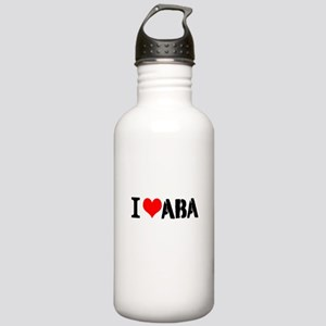 I Heart ABA Stainless Water Bottle 1.0L