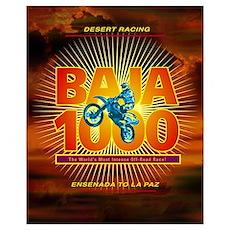 Baja 1000 Motocross Poster