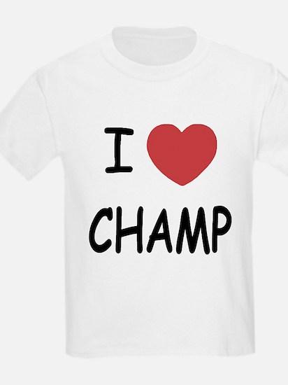 I heart Champ T-Shirt