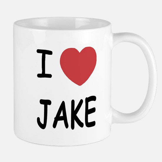 I heart Jake Mug