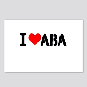 I Heart ABA Postcards (Package of 8)