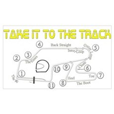 Track Days Canvas Art