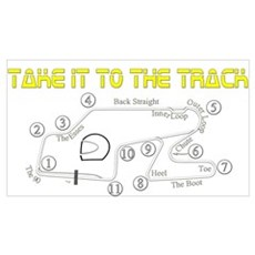Track Days Poster