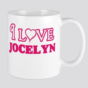 I Love Jocelyn Mugs