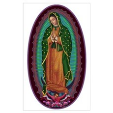 3 Lady of Guadalupe Poster