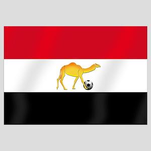 Egypt Camel Soccer Flag