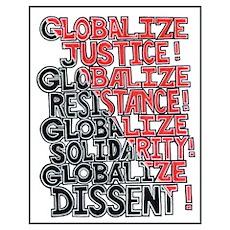 ALTERNATE GLOBALIZATION Poster