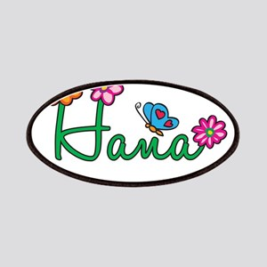 Hana Flowers Patches