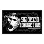 Animal Liberation 1 - Sticker (Rectangle 10 pk)