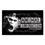 Animal Liberation 1 - Sticker (Rectangle)