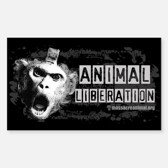 Animal Liberation 1 - Sticker (Rectangle)