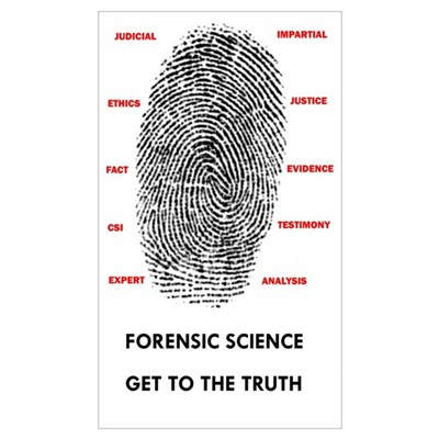 Forensic Science Canvas Art