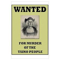 Columbus a Murderer Poster