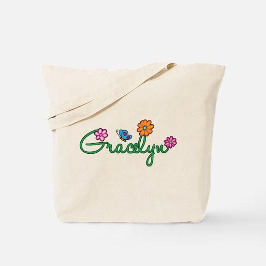 Gracelyn Flowers Tote Bag