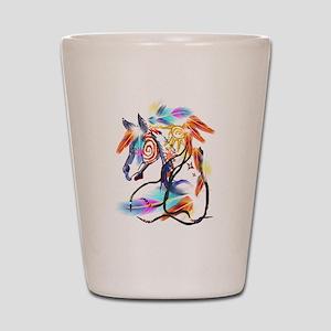 Bright Horse Shot Glass