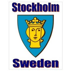Stockholm City Poster