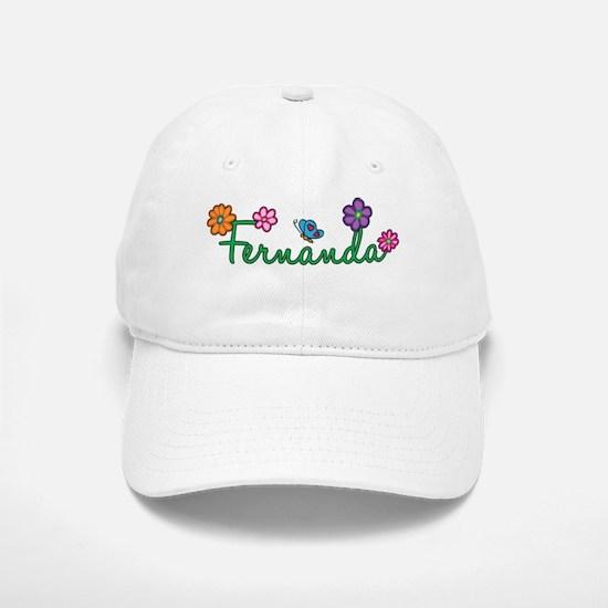 Fernanda Flowers Baseball Baseball Cap