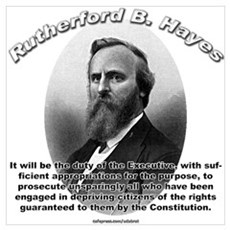 Rutherford B. Hayes 01 Canvas Art