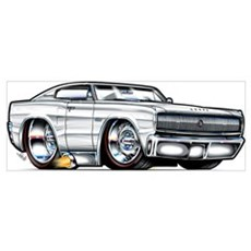 66 Dodge Charger Poster