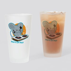 Mouse in the House Drinking Glass