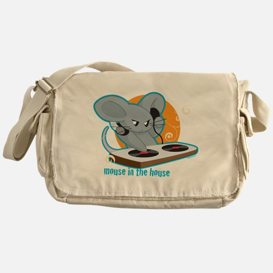 Mouse in the House Messenger Bag
