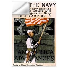 Join the Navy - Be Part of It Wall Decal