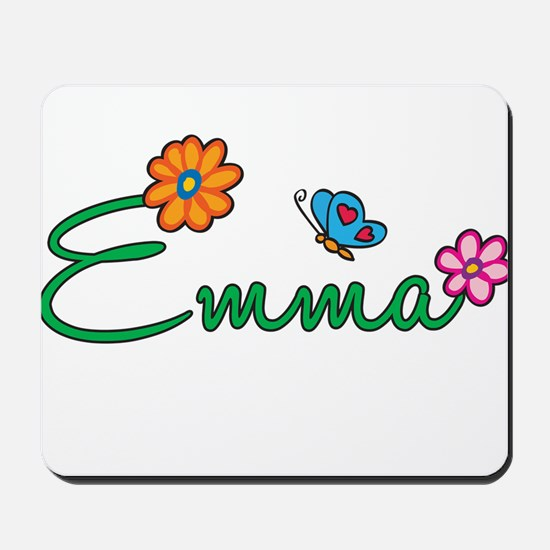 Emma Flowers Mousepad