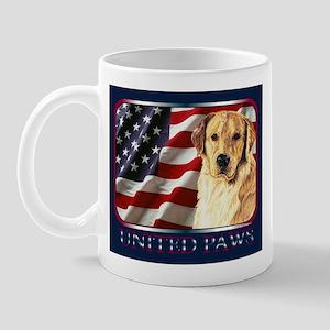 Golden Retriever United  Paws Mug