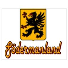 Södermanland County Poster