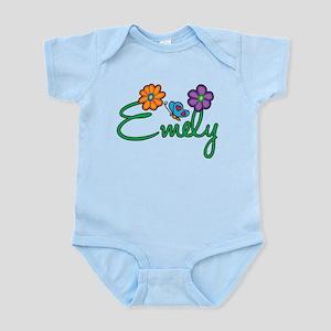 Emely Flowers Infant Bodysuit