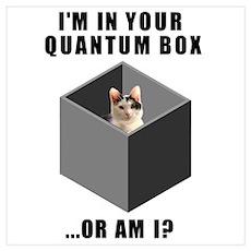 Quantum cat Poster