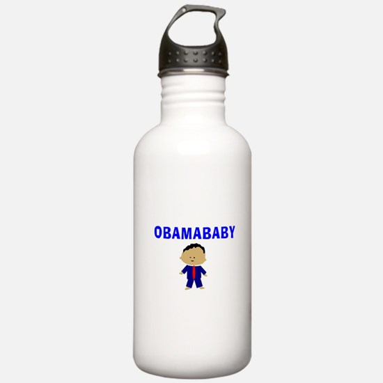 Obama baby 12 Water Bottle
