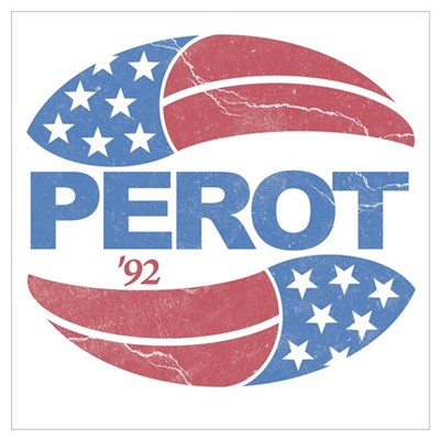 Ross Perot 92 Election Poster
