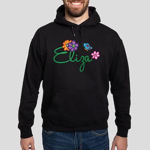 Eliza Flowers Hoodie (dark)