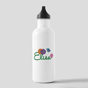 Elisa Flowers Stainless Water Bottle 1.0L