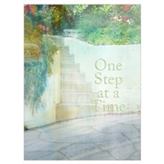 12 Steps Framed Print