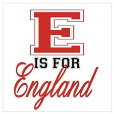E is for England Poster