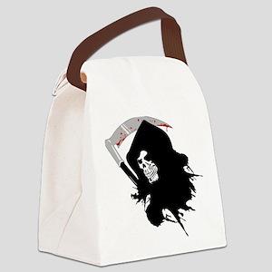 dead skull Canvas Lunch Bag