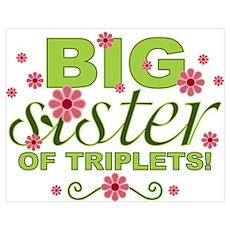 Big Sister of Triplets Poster