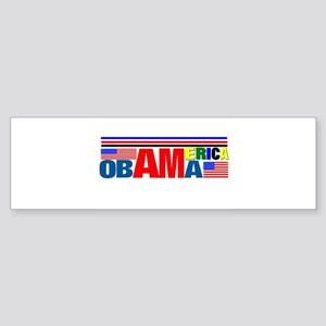 Obama America Sticker (Bumper)