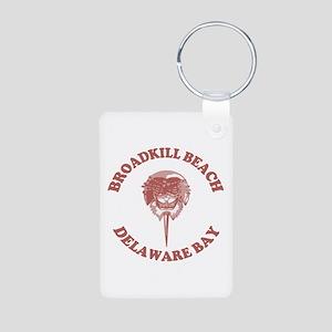 Broadkill Beach DE - Horseshoe Crab Design Aluminu