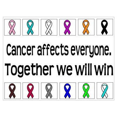 Cancer Affects Everyone Poster