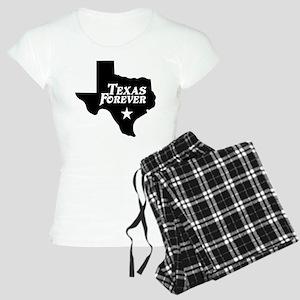 Texas Forever (White Letters) Women's Light Pajama