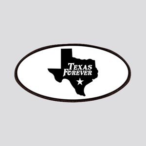 Texas Forever (White Letters) Patches